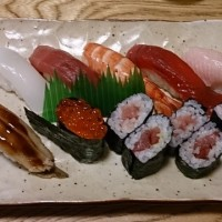 下見でお寿司やさん