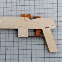 短機関ゴム銃の制作(2)