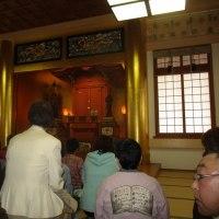 団参2日目の顕斎殿と、住吉霊宮で
