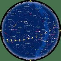 4月の星空