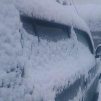 雪降り東山郷