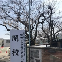 さようなら花見堂小学校〜3月25日、花見堂小閉校式でした。