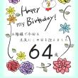 誕生日を迎えて・・・♪