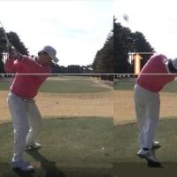 2/27 練習しました。・・左肩引き上げスイング、良かった。