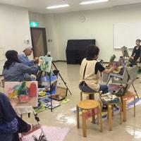 絵画サークル雅会に参加