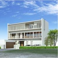 建築CGパース:住宅建築外観パース