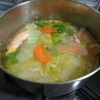 鮭の味噌汁
