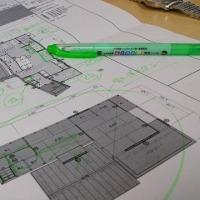 週末住宅・・・・セカンドハウスとしての価値をカタチにするリノベーション計画、その場所で必要となる設計デザインの価値を模索しながらデザイン要素整理の途中・・・・・・。
