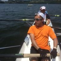 高尾山と、相模湖でのボートの練習