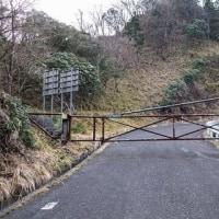 安倍峠~奥大光山 無雪期のコース確認
