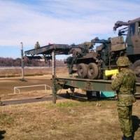 陸上自衛隊の自走式架柱橋架設訓練を視察!2月10日(金)のつぶやき