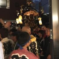 10/19・チエの「氷川さんのお祭り」