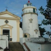 世界遺産の Guia Hill (東望洋炮台)へ