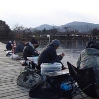 ワカサギ釣り情報:新潟帰りからの丹生湖・・・