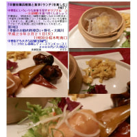中華街でも大きな店舗「招福門」 ミニフカヒレ姿煮レディースランチコース!