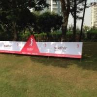 インドでゴルフ、80回目。