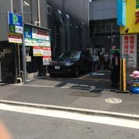 横浜駅周辺では見かけない光景。