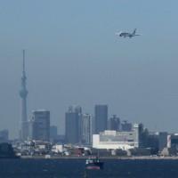 望遠 東京湾