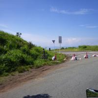 崩落した「ラピュタの道」付近の状況