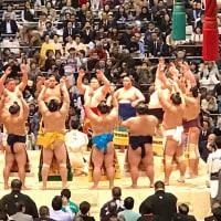 平成29年度 大相撲大阪場所13日目観戦【速報】