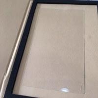 1/15 タブレット用のガラスフィルム 早速、割っちゃいました。