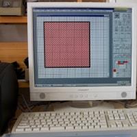 SDKの織物デザイン チェック柄を作る      竹島クラフトセンターCG教室