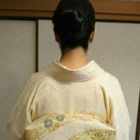 29.6.25出張着付2件中1件目は大阪狭山市、結婚式に行かれる訪問着の着付依頼でした。