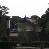 皇居のお堀前
