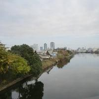 中川区をウオーキング