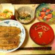 晩ごはん☆鰻丼