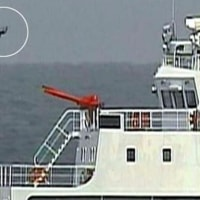 中国の「海警」 尖閣の領空内でドローン使用