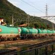 《鉄道写真》篠ノ井線田沢付近での撮影