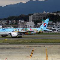 大韓航空 B777 スぺマ FUK