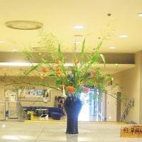 ・町田市民ホール・ロビー展示(ノバラの実)