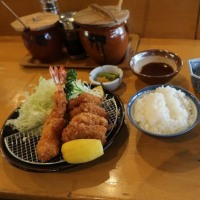 勝味庵本店 (とんかつ、イワシ料理 長野県茅野市)