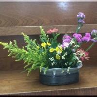 シナプス先生「生け花に挑戦!」