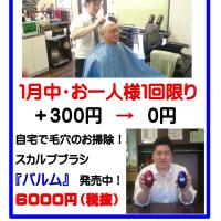 『理楽シャンプー』無料体験実施中!