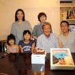 孫との合同誕生会
