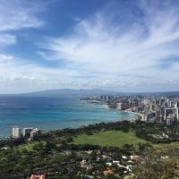 初ダイヤモンドヘッド in Hawaii♡