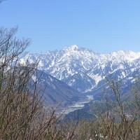 2017/04/24(月) 千石城山 剣岳が美しい