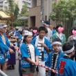 伊射奈岐神社の太鼓神輿巡行