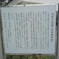 山口県下関市「長府毛利邸」①&変な雲?