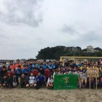 志摩ビーチサッカーフェスタ開催中!