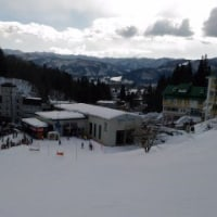 絶好のスキー日和@八方2日目