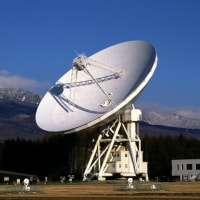 電波望遠鏡がマイルストーンに