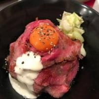 きょうのランチは愛媛ステーキ食堂のローストビーフ丼。。@フジグラン重信