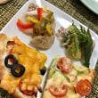 wakakoyaファームで夏野菜ピザランチ 友達の美味しいマリネ付き