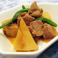 11月11日「水煮筍と豚肉炒め煮」