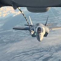 VMFA-121のF-35B、岩国に向けて米本土を出発 ※追記あり