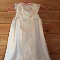 お宮参り用のベビードレス作り…♪